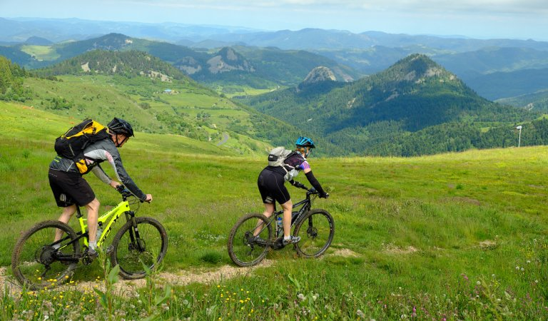 The Great Mountain Bike Trail from St-Félicien to Les Estables