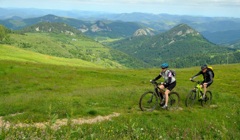 The Great Mountain Bike Trail from Annonay to Les Estables