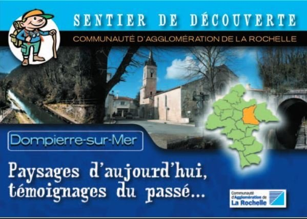 Dompierre-sur-Mer: Landscapes of today, testimonies of the past ..
