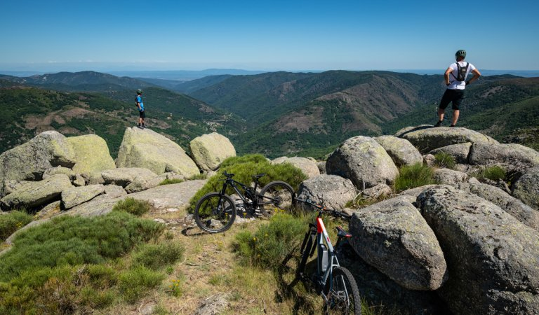 The Great Mountain Bike Trail from Les Estables to Les Vans
